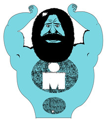 ironman hairy guy