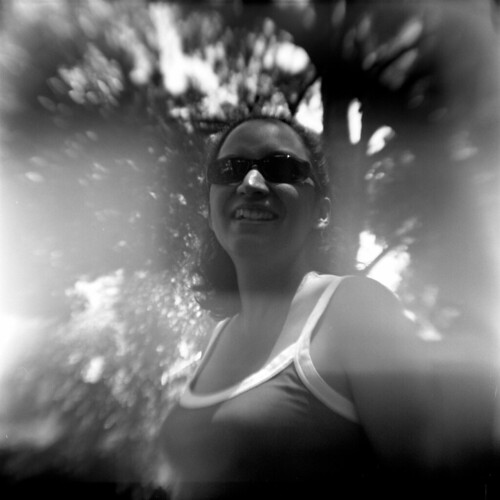rosina with light leaks