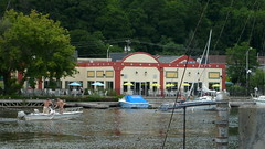 ON THE RONDOUT 2009 (richie 59) Tags: city urban usa creek docks buildings boats outside us unitedstates kingston boating newy
