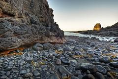 Pulpit Rock  Cape Schanck  Mornington Peninsula (WilliamBullimore) Tags: seaweed nature sunrise landscape coast rocks rocky australia victoria coastline morningtonpeninsula hdr hdri pulpitrock capeschanck