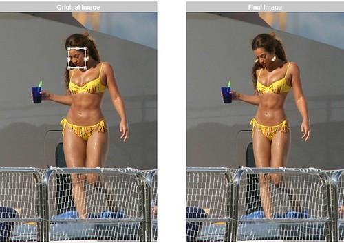 Engordando a Megan Fox y adelgazando a Beyoncé   WeightMirror