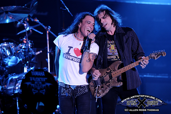 Pearcy/Demartini at Rocklahoma 2009