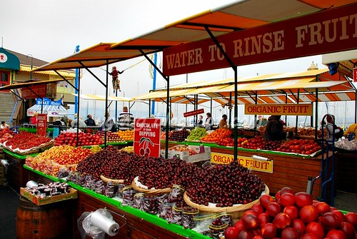 Fruit Stall @ Fisherman's Wharf