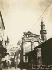 Damascus, Ommayad Mosque and Temple of Jupiter (blauepics) Tags: world ruins war roman wwi arab german empire syria soldiers ottoman revolt soldaten tempel ruinen deutsche damaskus syrien rmisch weltkrieg truppen