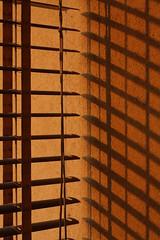 just wait and see (belle haleine) Tags: sunset orange home casa tramonto canon50mmf18 arancione balcone tende eos450d veneziane