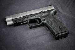 Springfield XDM-9 (KristyR929) Tags: gun pistol springfield handgun 9mm semiautomatic bitone xdm9