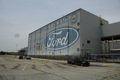Abandoned Ford Auto Assembly - Ga