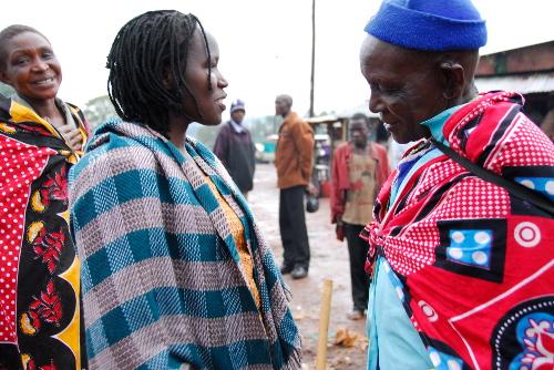 Kakenya and elders of Enoosaen