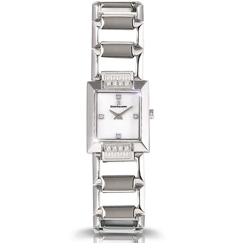 Ladies Mother of Pearl Orthogonal Watch (TW554)