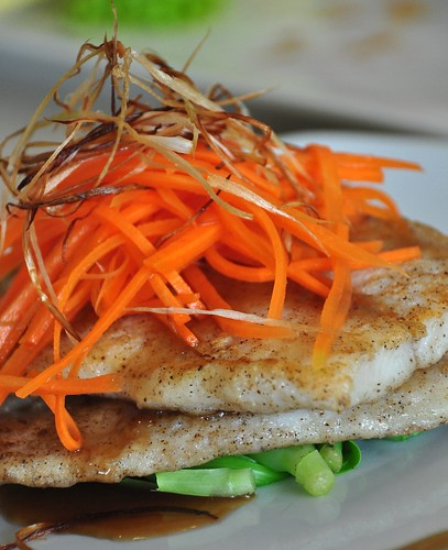 Fish Fillet in Light Soy Sauce