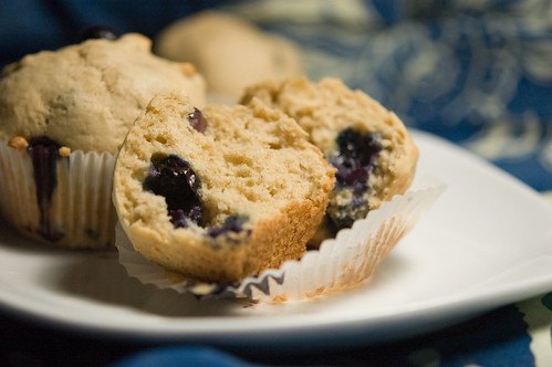 maple blueberry muffins (by bookgrl)