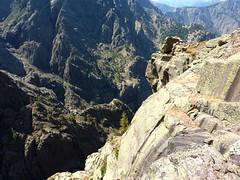 Andade a u Ponte : les précipices vertigineux au-dessus de Tana di l'Orsu