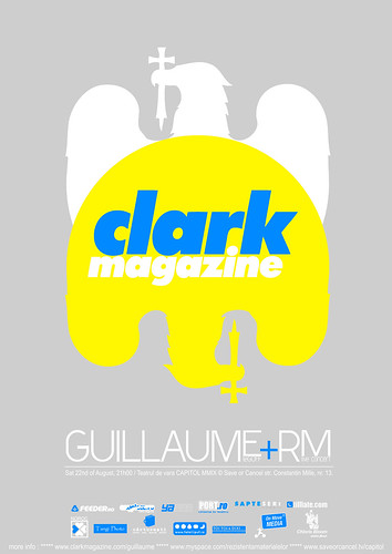 Comunicat de presa: Guillaume Le Goff – Clark Magazine @ Teatrul de vara CAPITOL MMIX / © Save or Cancel