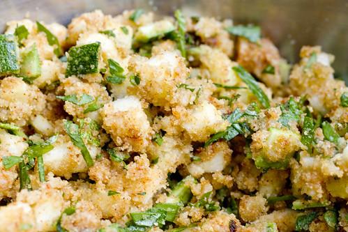 Stuffed Zucchini Filling