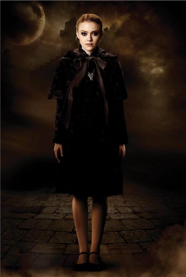 Dakota Fanning es Jane Crepúsculo