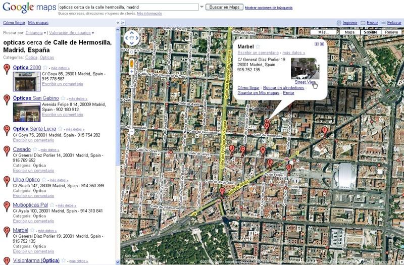 Los comercios se incorporan directamente a la navegacion en Street View 3865027208_a3eefa8275_o