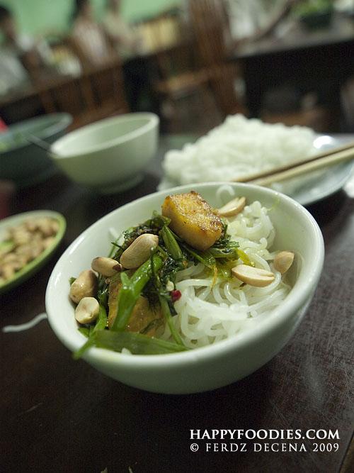 Cha Ca La Vong in Hanoi Vietnam