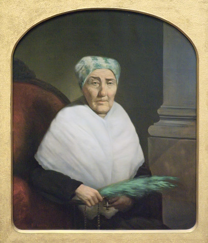 Painting of Mme Elizabeth Ortes, at the Missouri History Museum (Jefferson Memorial) in Forest Park, Saint Louis, Missouri, USA