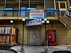 Dichotomy of Sorts.!! (Ken Yuel Photography) Tags: cocacola hotels coldbeer dichotomy motels clubsandbars additionalparking digitalagent kenyuel catfiddleniteclub downtownportagelaprairie seedyestablishments