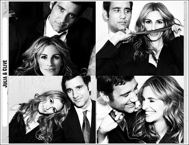 Julia Roberts & Clive Owen by juliafan