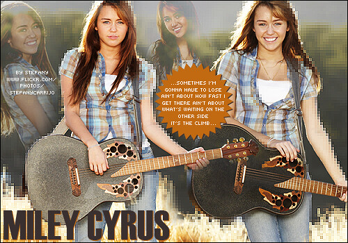 Blend - Miley Cyrus by stefanycarrijo.