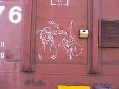 Feed and Sicr (goozledoutgizzards) Tags: feed streaks freights