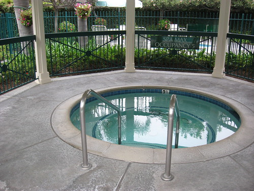 candy cane inn. Candy Cane Inn Hot Tub. It was wonderful to soak in this hot tub after a