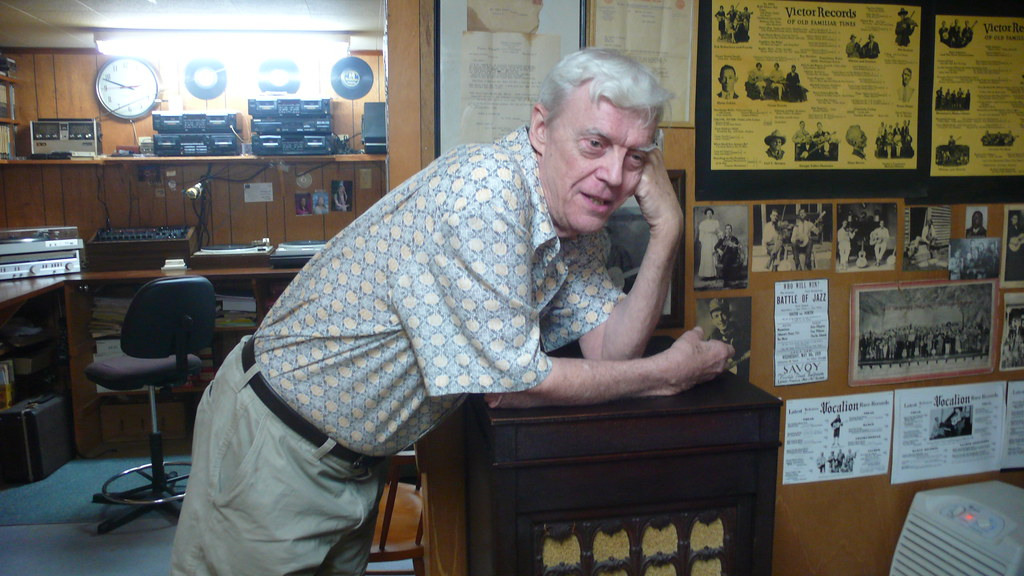 One final photo of Joe and his Victrola