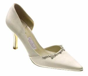 Unique and interesting designs for wedding shoes.