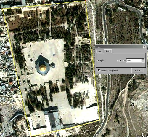 Location of Christ's birth from Temple mount    `by Newton2012 3927412189_5f8a079f3b