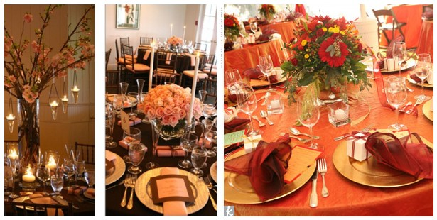 Fall Wedding Table Decorations Centerpieces