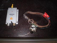 camera dog video jr spy collar transmitter