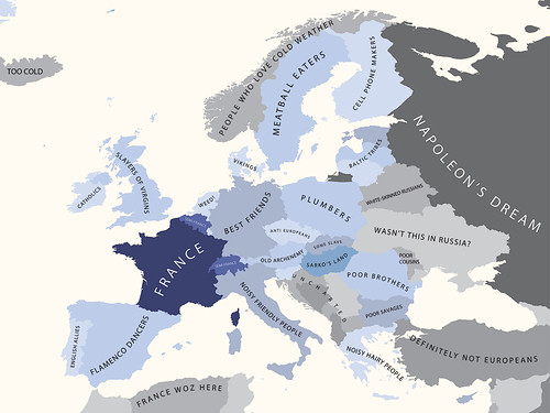 Europe According to France / alphadesigner