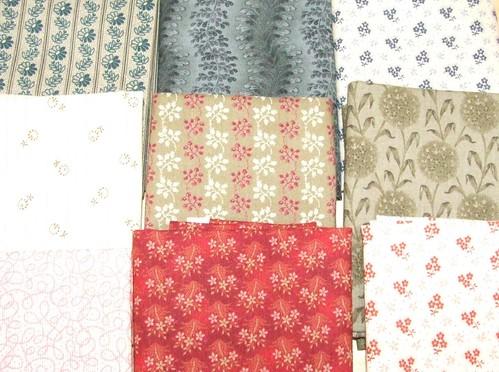 Fabrics from Maeve's