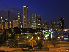 is this sunset time yet (iCamPix.Net) Tags: sunset chicago canon wow illinois lakemichigan downtownchicago cookcounty 2057 markiii1ds