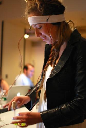 Lisa Maria playing Pinch Control