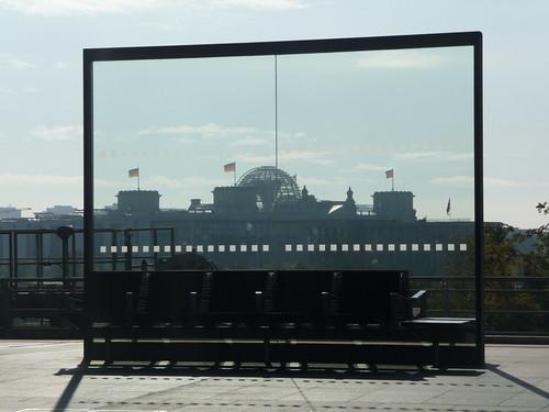 Reichstag from Hauptbahnhof