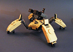 CompRT-03 [Codename 'Tical'] (Cole Blaq) Tags: lego military walker future scifi mech multiped coleblaq