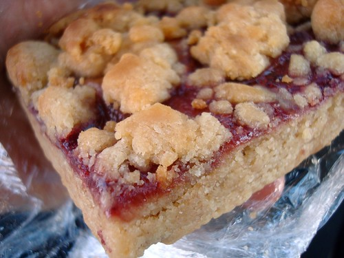 Peanut butter and jelly bar, Sweet Pea Bakery