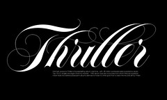 Thriller (daylight444) Tags: typography font typeface lubalin carnase