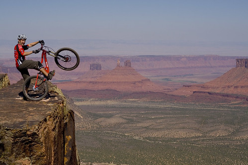 After Interbike 2009, we were lucky enough to have a week of riding in Moab Utah. What a place to ride!