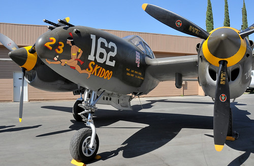 Warbird picture - Lockheed P-38 Lightning