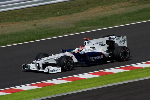 Robert Kubica - BMW F1.09