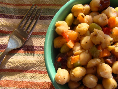 Autumn Chickpea Salad