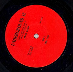 "LSD ETC. LABEL ""UNDERGROUND 12"""