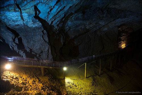 New Athos Cave in the Iverian Mountain. Abkhazia