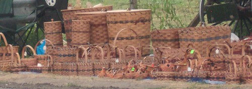 handmade amish baskets