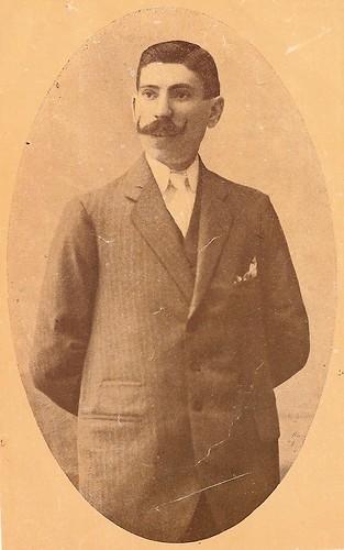 Emilio Bueno Galán en su etapa como Teniente de Alcalde del Ayuntamiento de Toledo hacia 1914