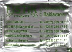 Fıstık 27 Ayar Gaziantep Baklavacısı - Ön