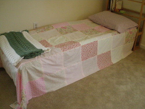 Quilt top and pillowcase
